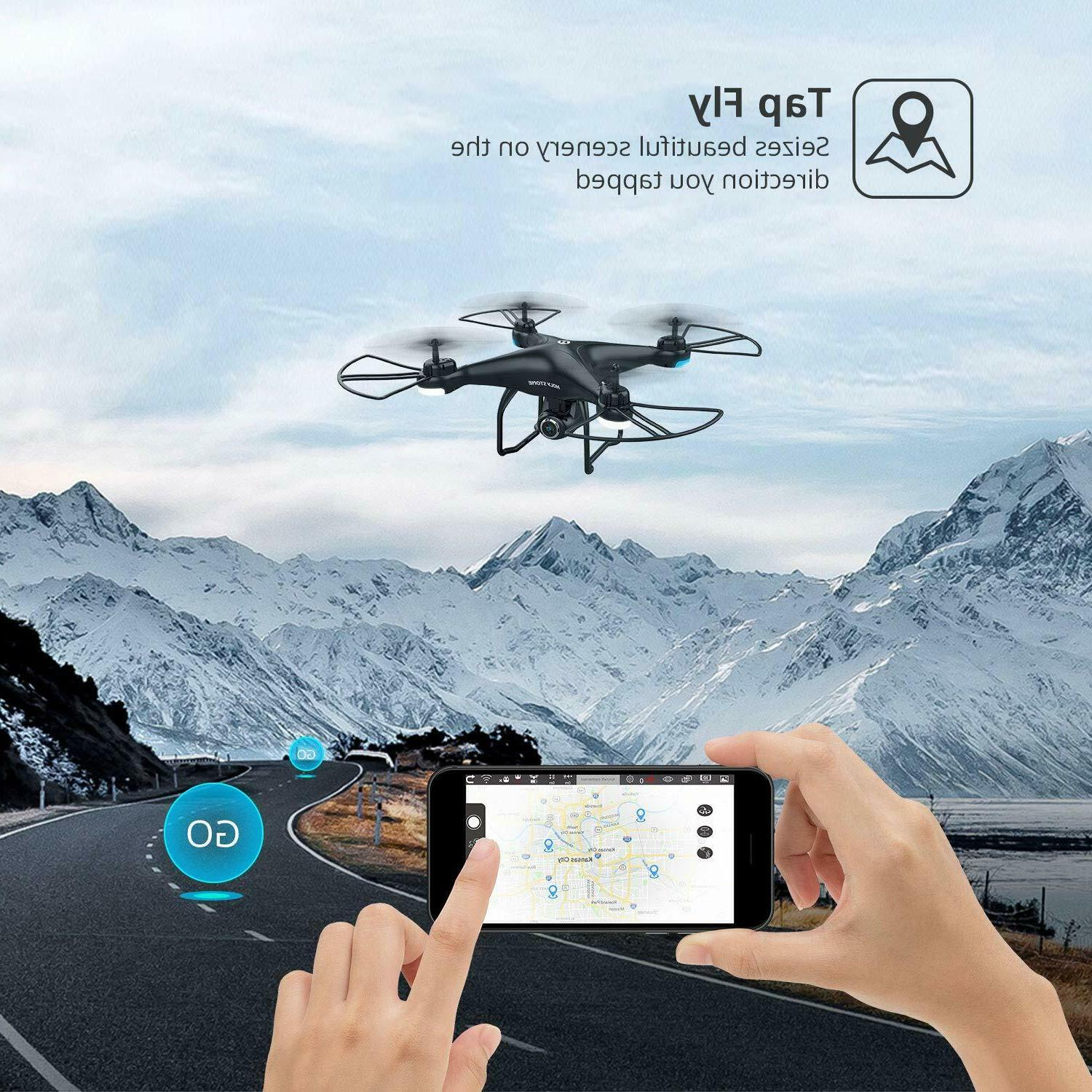 Holy Drones with Camera GPS Quadcopter Follow