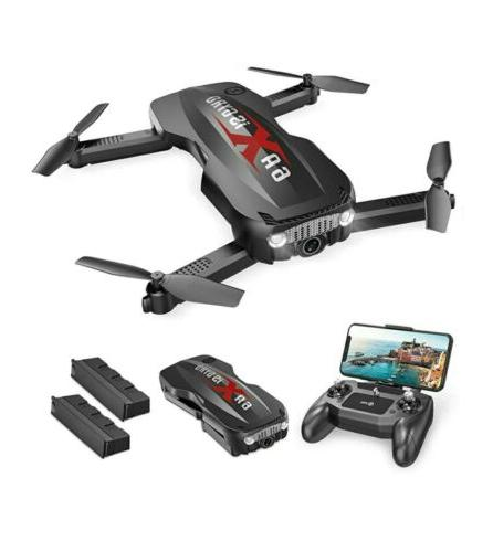 hs160 pro foldable drone with 1080p hd