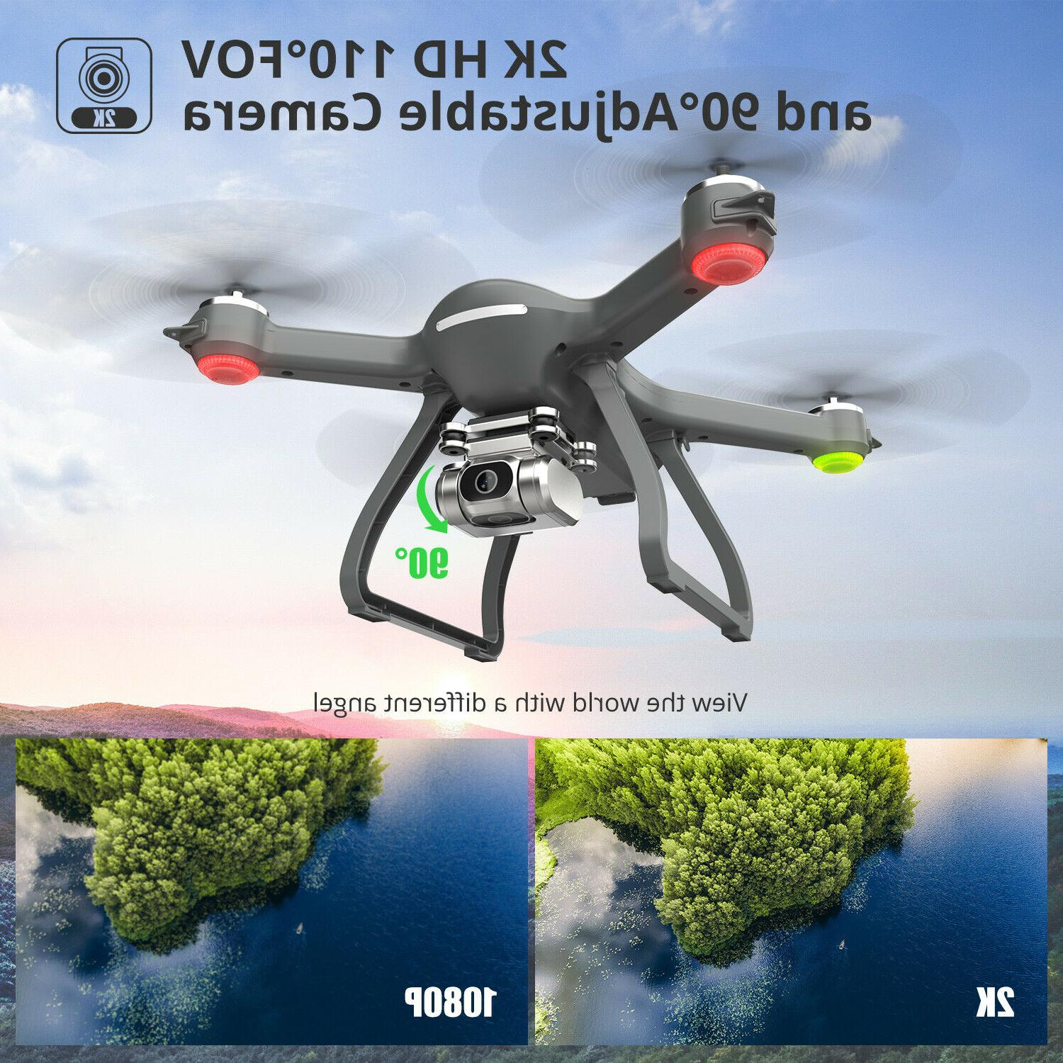 Holy FPV Drone 2K HD Camera Brushless RC