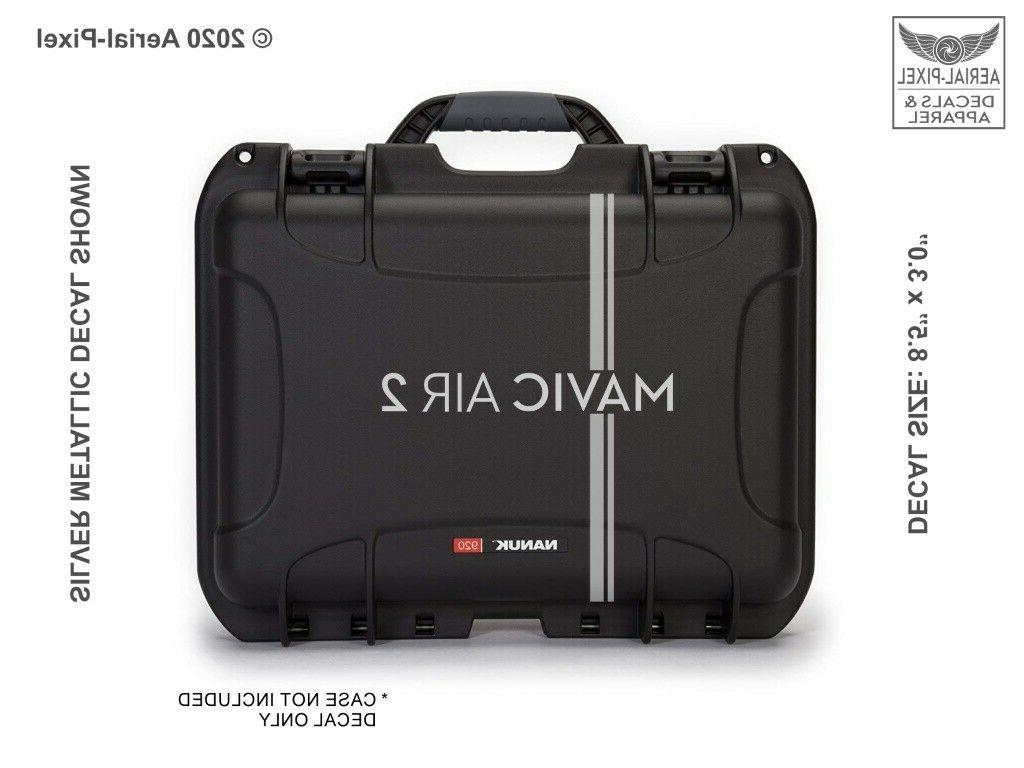 mavic air 2 drone case decal
