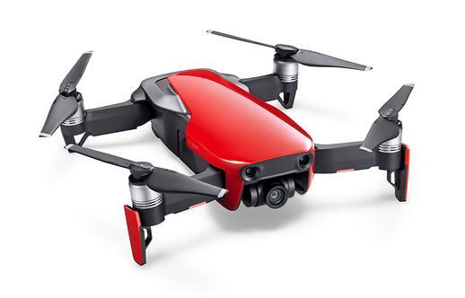 mavic air flame red drone 4k camera