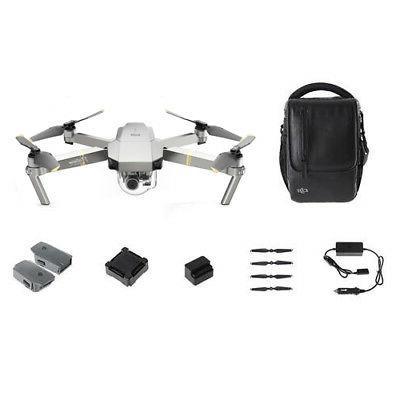 DJI Mavic Pro Quadcopter Drone Camera + Wi-Fi Fly More