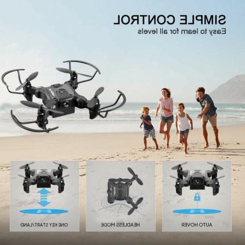 Mini WIFI With Camera Foldable Arm RC Quadcopter