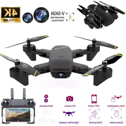 mini drone selfie wifi fpv dual hd