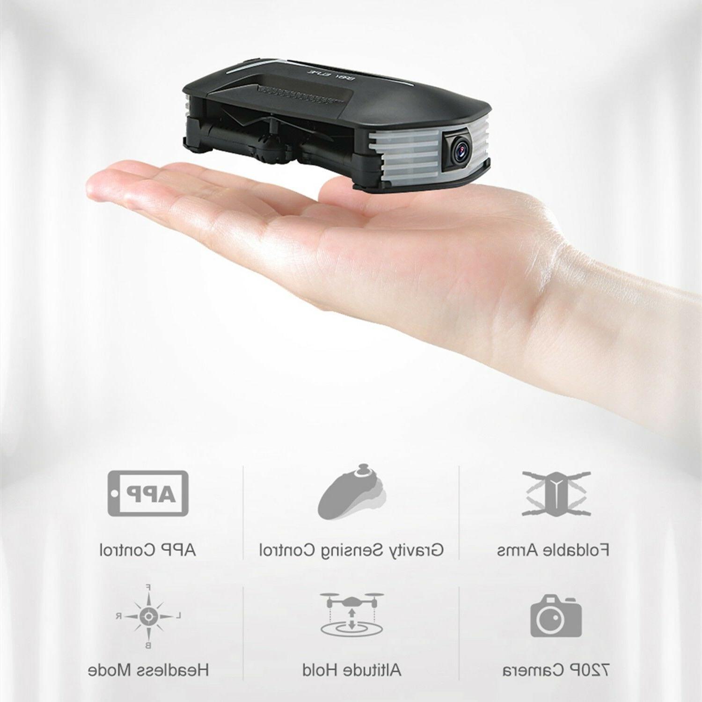 mini foldable drone with video camera 720p