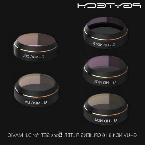 PGYTECH ND8 UV CPL 5pc DJI Pro