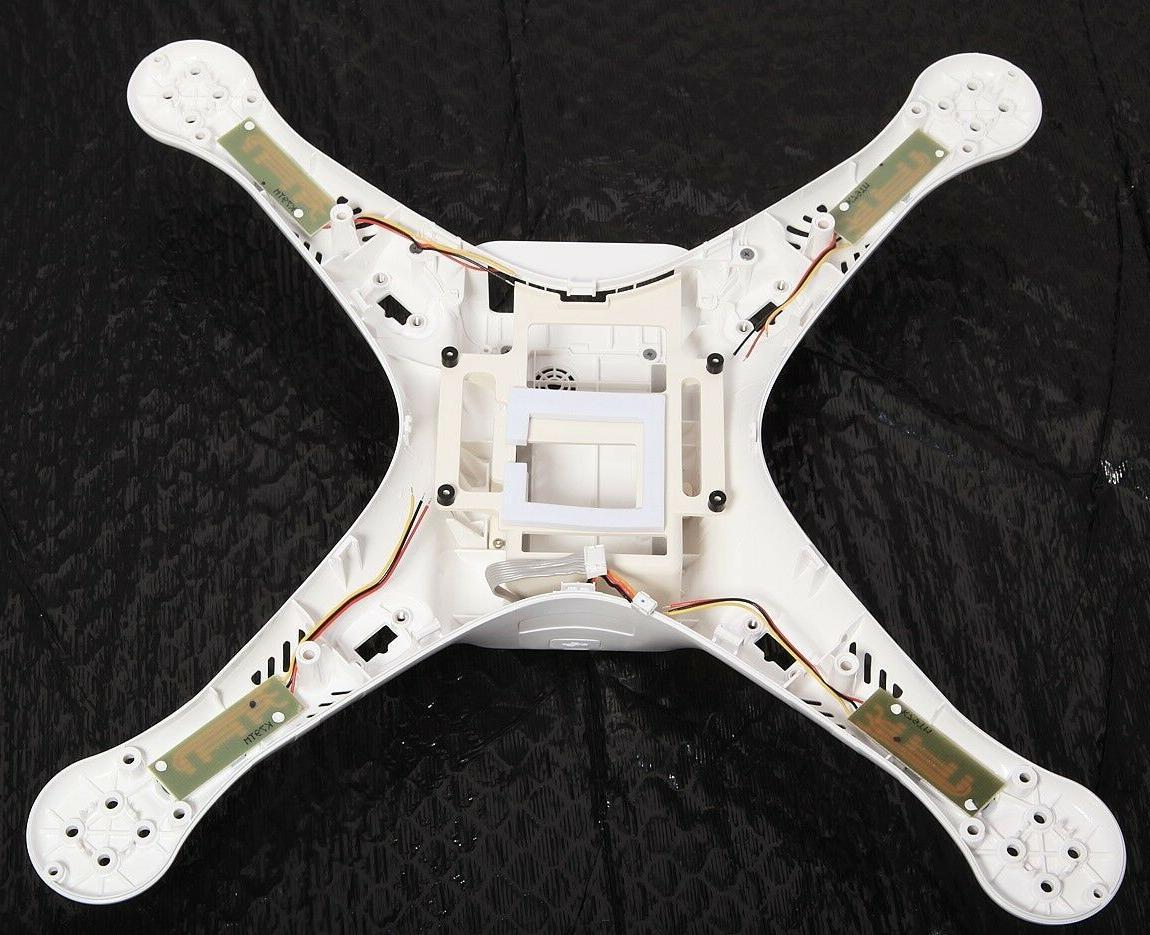 Original DJI 3 Advanced Drone Body Case + Screws