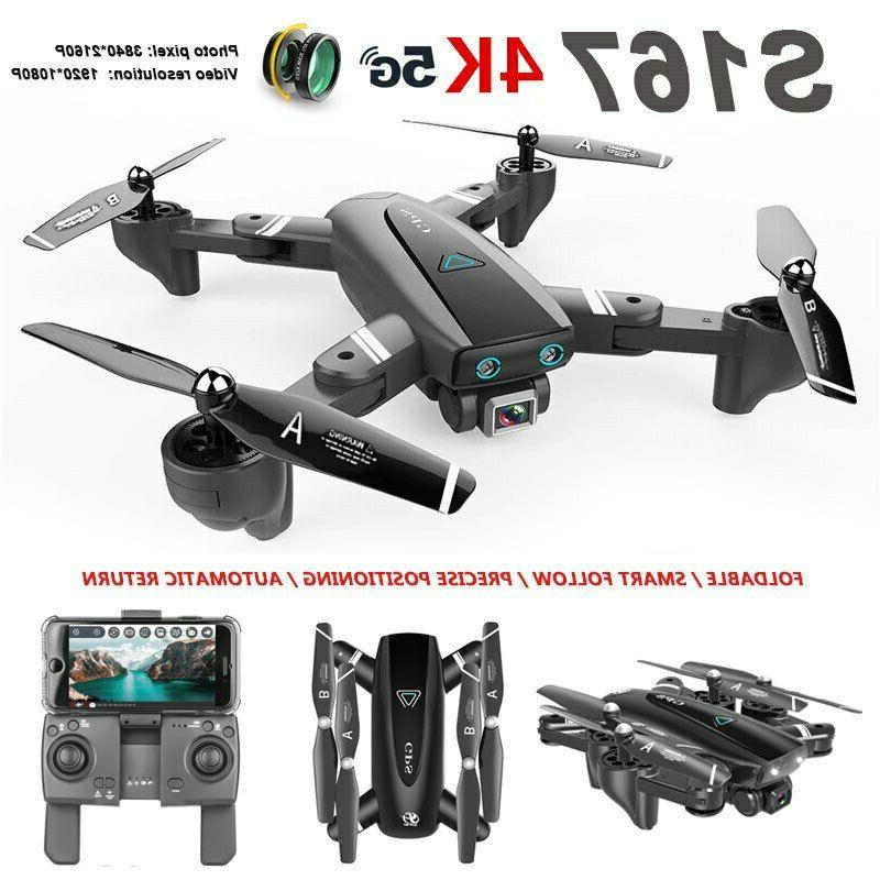 S167 Pro Drone 5G WIFI Way-point Brush