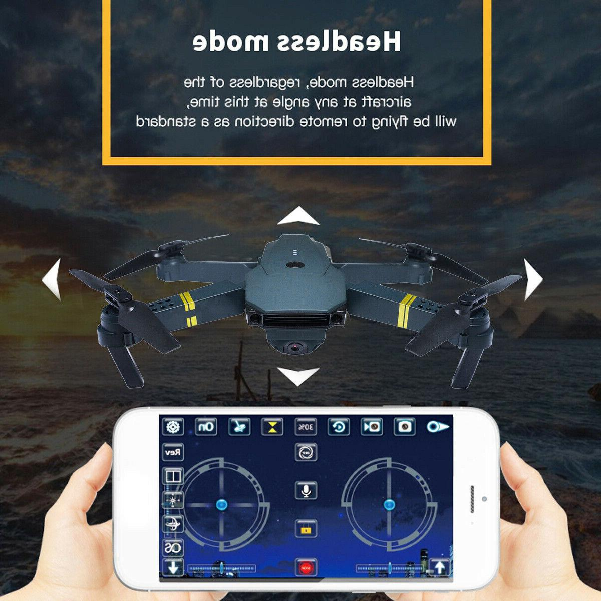 Cooligg Wifi HD Camera Foldable Quadcopter FPV