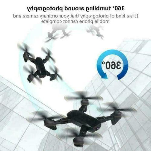 Cooligg Quadcopter Drone HD 720P Foldable RC