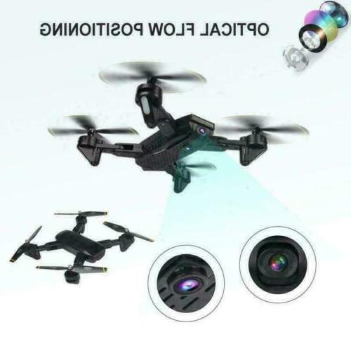 Cooligg Drone With HD Camera 2MP 720P WiFi Foldable RC