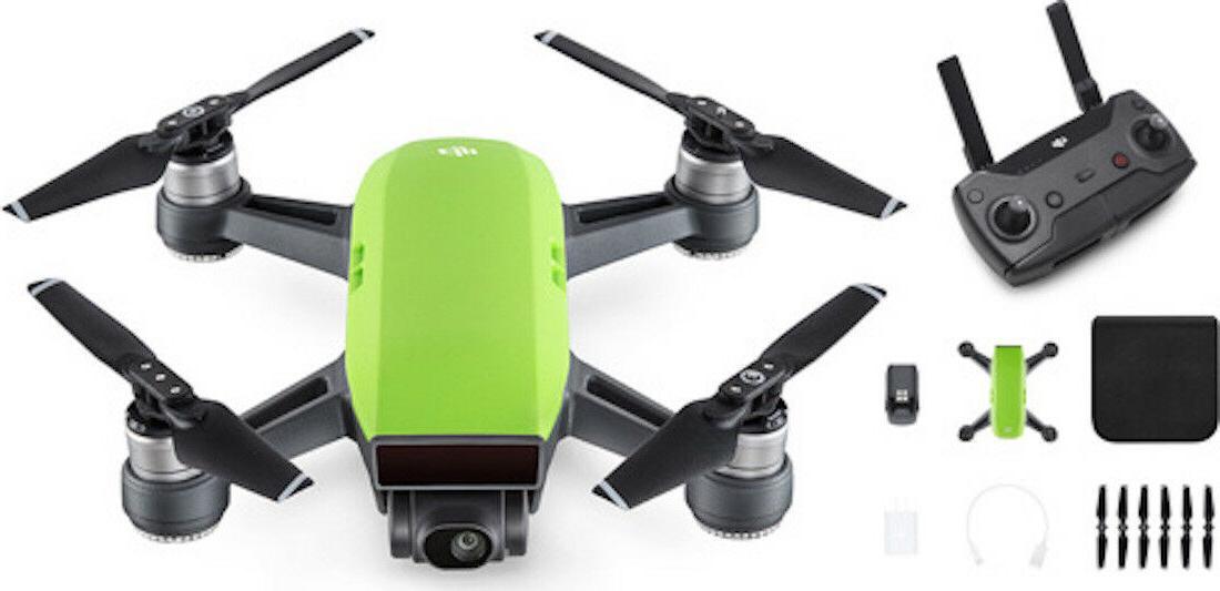 DJI Quadcopter Green DJI Controller