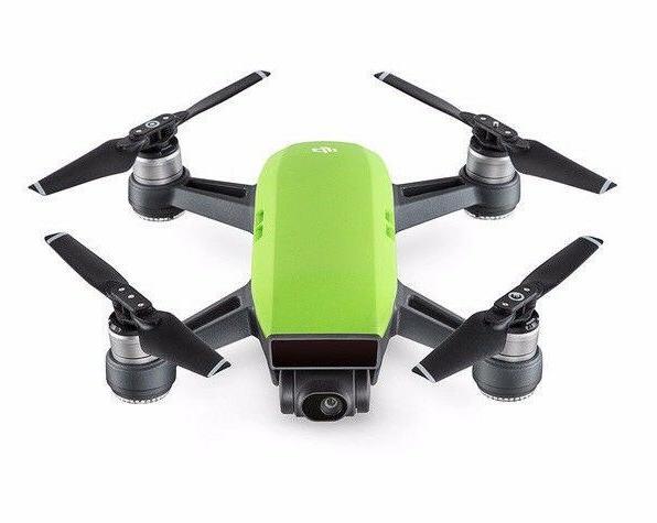 DJI Spark Green and Controller