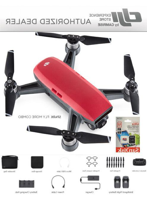 spark fly more combo enhanced bundle drone