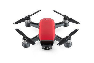 DJI Spark Lava Red Quadcopter - 1080p Video