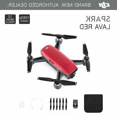 DJI Spark Lava Quadcopter 12MP 1080p