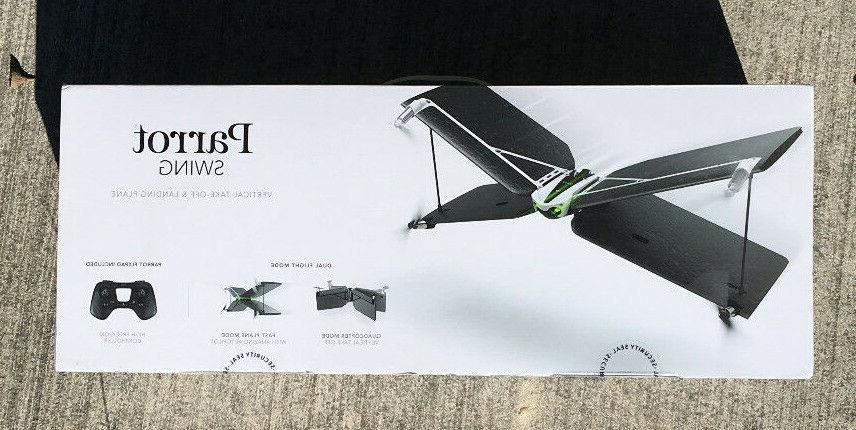 swing drone quadcopter fast plane
