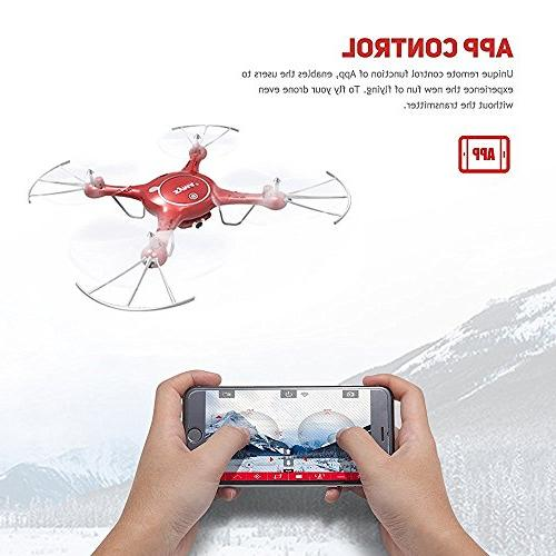 Goolsky Syma Drone WiFi FPV HD Camera with Function Battery RTF