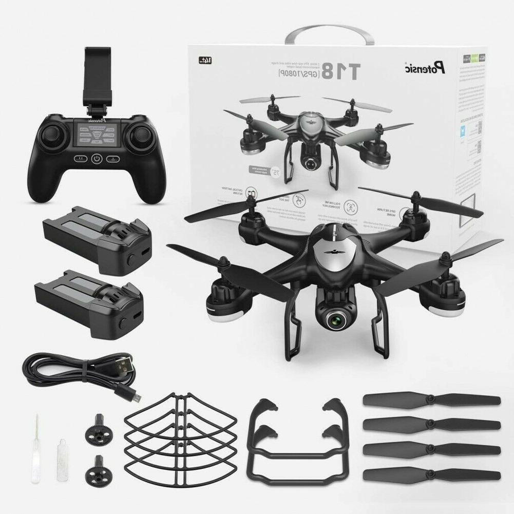 Potensic Drone 1080P HD Camera RC Quadcopter Drones