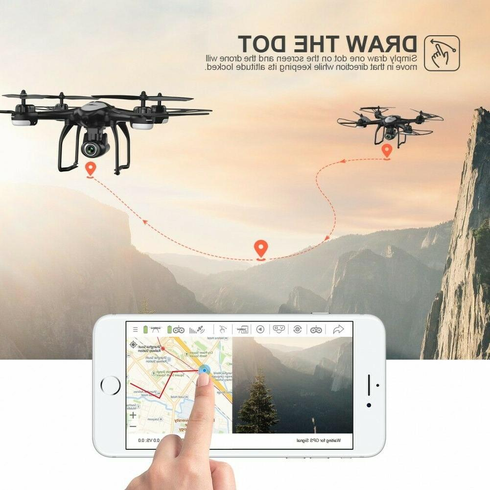 Potensic FPV Drone HD RC Quadcopter Drones