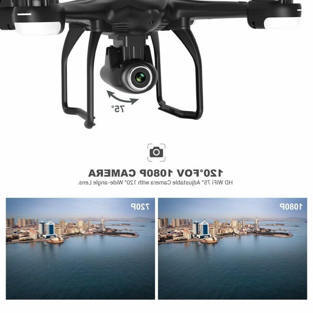 Potensic GPS FPV Drone Camera RC Quadcopter Follow Drones