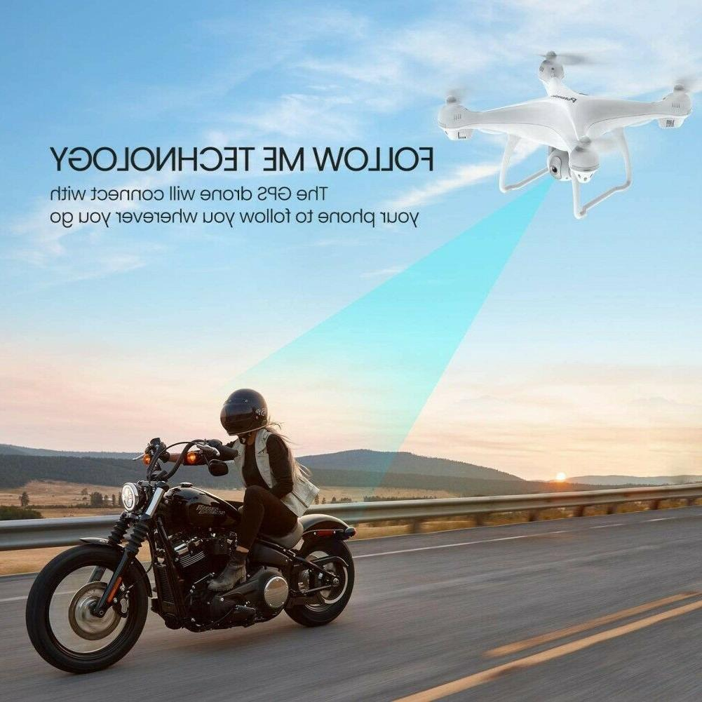 Used Potensic with 1080P RC Quadcopter GPS Drones