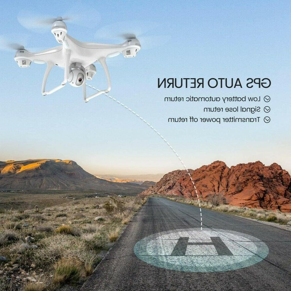 Used with 1080P HD RC FPV GPS Drones