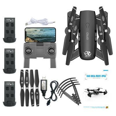 US CSJ Drone with 1080P RC Quadcopter for Adults Battery