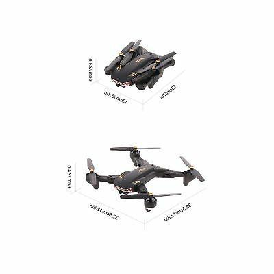 Goolsky VISUO 2.0MP Wide FPV Drone One Key ...
