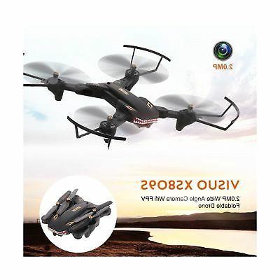 Goolsky VISUO Wide Camera Wifi FPV Drone Key