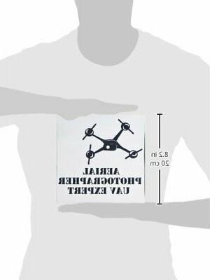 3dRose White Drone Aerial UAV (mp_1