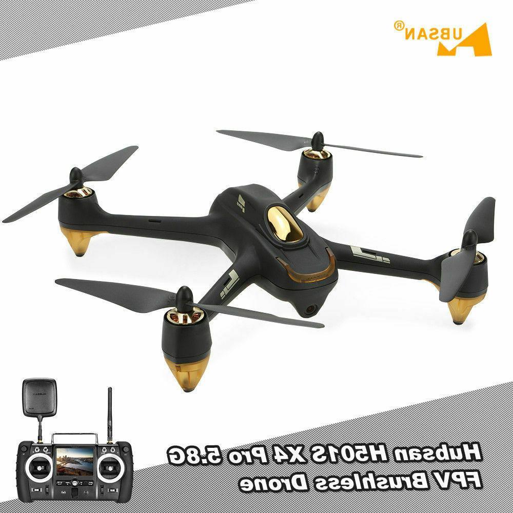 Hubsan H501S Drone FPV 5.8G 1080P GPS Brusheless RTF, 2019