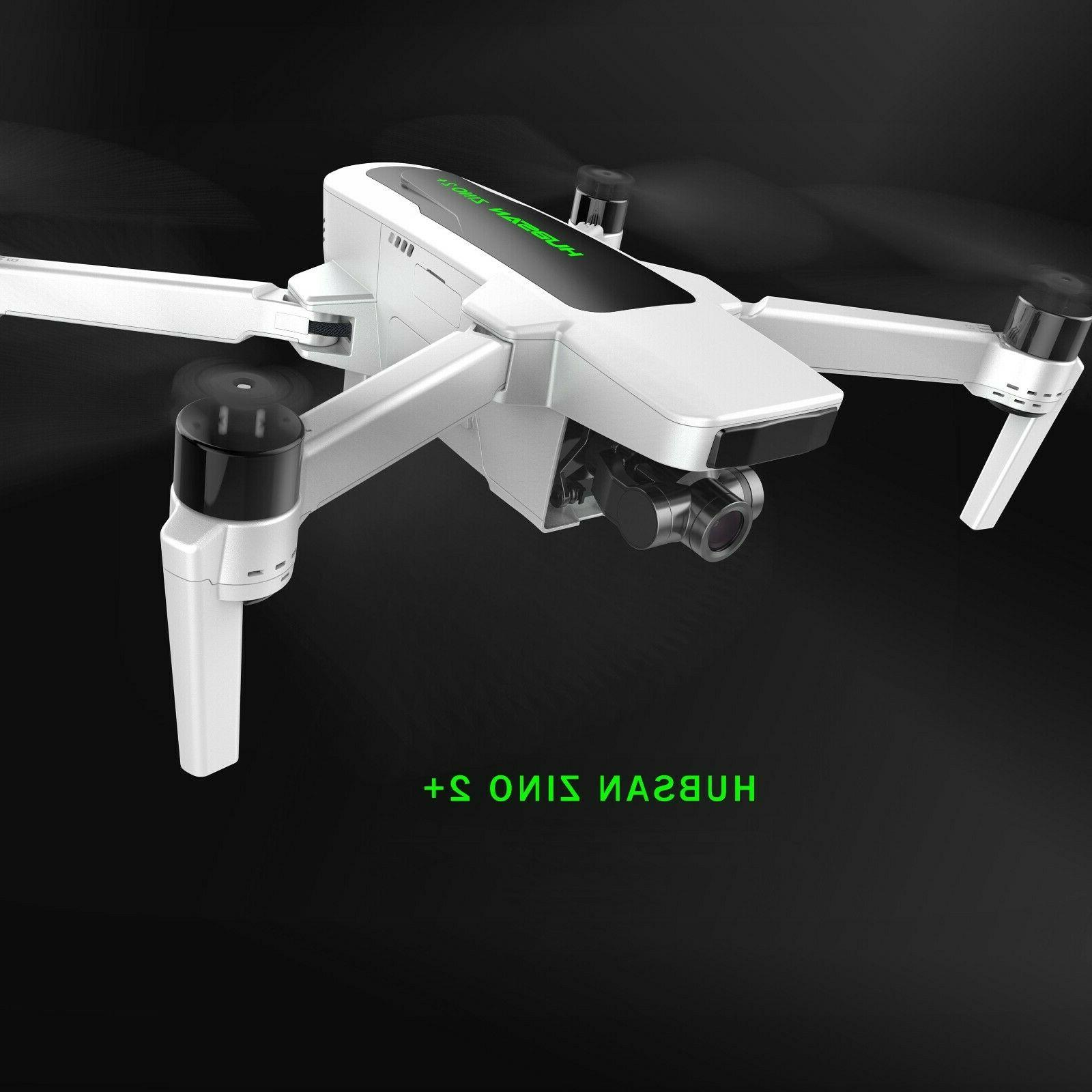 Hubsan Zino 2+ Drone GPS with 4K 60fps 3-axis