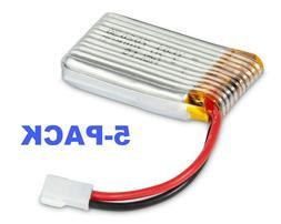 4pcs 3.7V 550mAh Lipo Battery For Syma X5C X5C-1 X5 X5SW RC