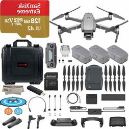 Dji Mavic 2 Pro Drone Quadcopter, Fly More Combo Kit, Hassel