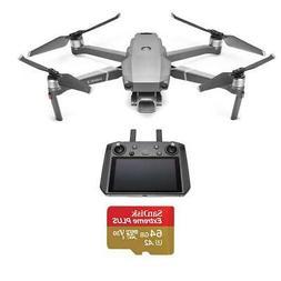 DJI Mavic 2 Pro Drone with Smart Controller - With 64GB Micr
