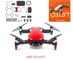DJI Mavic Air - Flame Red Drone - Fly More COMBO & Goggles