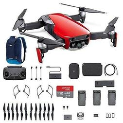 Mavic Air Fly More Combo, Flame Red Portable Quadcopter Dron
