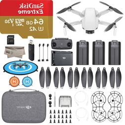 DJI Mavic Mini Fly More Combo Camera Drone 3 Batteries with