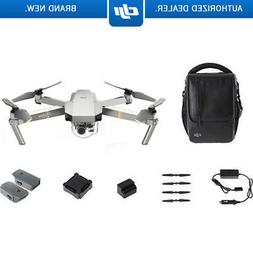 DJI Mavic Pro Platinum Quadcopter Drone with 4K Camera + Wi-