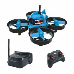Micro FPV Racing Drone With Goggles Camera RTF Tiny Whoop Qu