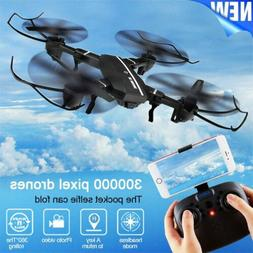 Mini 8807W Foldable With FPV HD Camera 2.4G 6-Axis RC Quadco