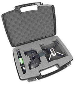 CASEMATIX Mini Drone Hard Carry Case Fits Parrot Mambo Drone