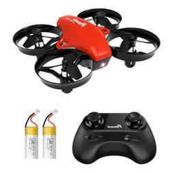 Mini Drone, Potensic Upgraded A20 RC Nano Quadcopter 2.4G 6