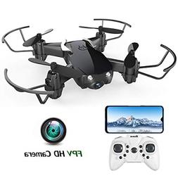 Mini Drone with Camera for Kids and Adults, EACHINE E61HW Wi