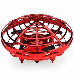 mini flying helicopter ufo rc drone hand