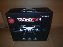 NEW Force1 F100 Ghost Drone 1080p Remote Control Brushless D