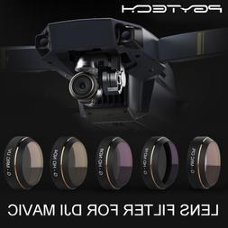 PGYTECH  ND4 ND8 ND16 UV CPL Lens Filter 5pc For DJI Mavic P