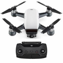 NEW DJI Spark Controller Combo Alpine White Mini Drone 1080p