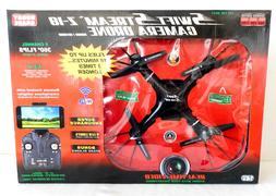 NEW SWIFT STREAM Z-18 CAMERA DRONE INDOOR/OUTDOOR 2.4 ghz RE